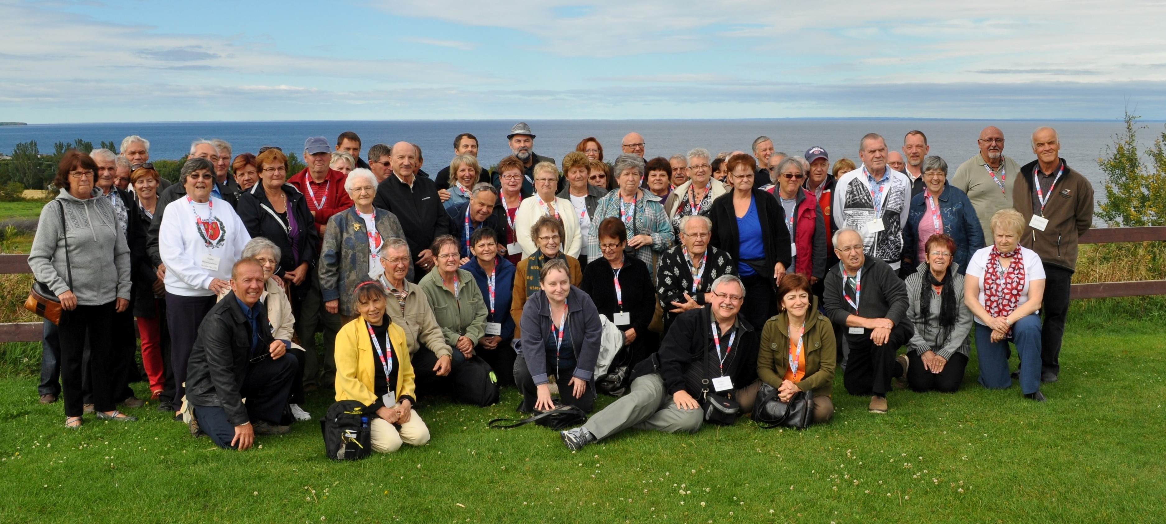 Groupe au Lac-St-Jean