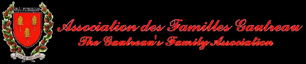 L'Association des Familles Gautreau